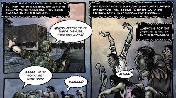 Zombie pandemic