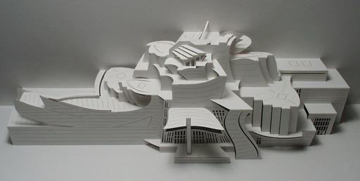 Arquitectura hoja papel