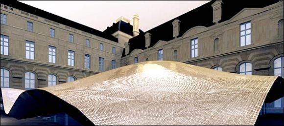Alfombra voladora para Louvre