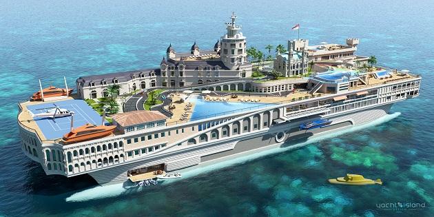 Yatch Island Desing - Streets of Monaco