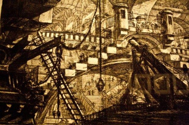 Exposición sobre Piranesi Caixafórum Madrid