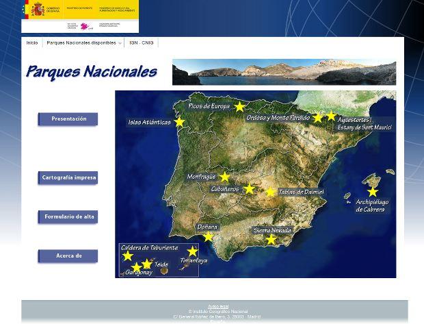 Parques Nacionales Interactivos