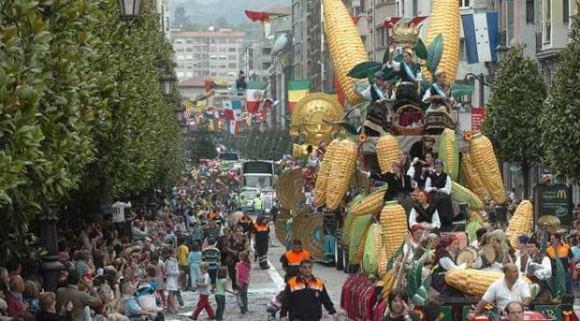 fiestas san mateo Oviedo