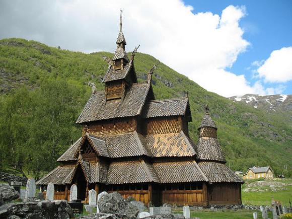 Iglesia medieval Borgund