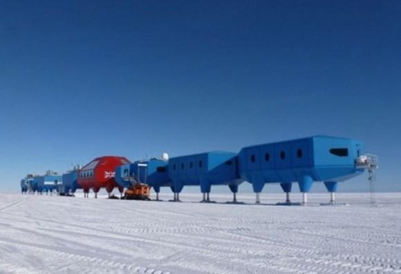 Halley VI estación sobre patines Antártida