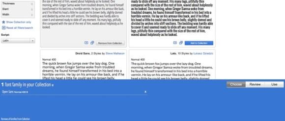 Google web fonts 2