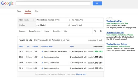 google flights2