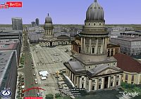 Berlín en 3D en Google Earth