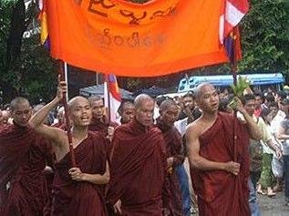 La épica de los monjes budistas