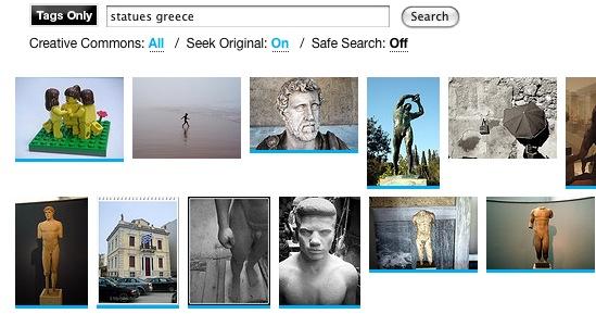 Compfight, un excelente buscador de fotos en Flickr
