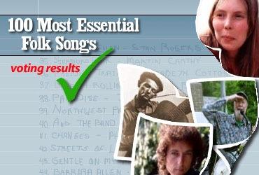 Las 100 canciones folk esenciales