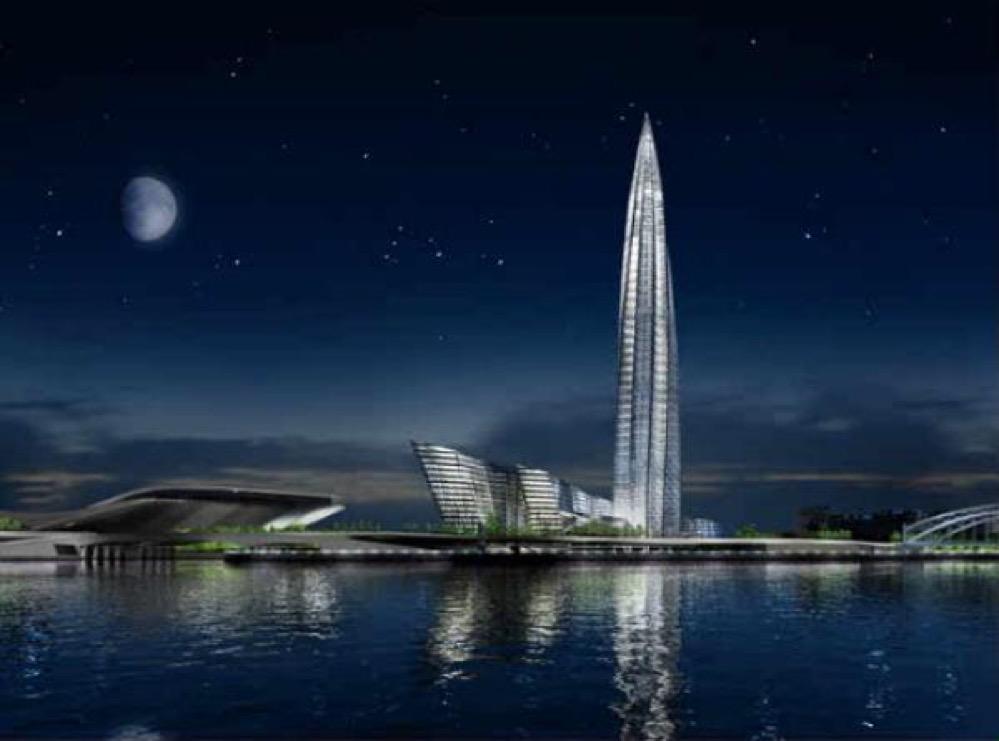 El edificio más alto de Europa: Okhta Tower