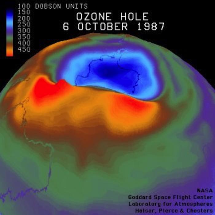 El agujero de la capa de ozono está a punto de cerrarse