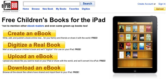 ePub Bud: eBooks gratuitos para iPad e iPhone