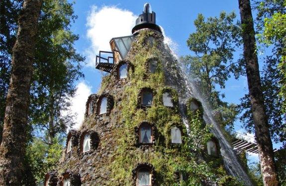 Una montaña mágica y un baobab en Chile 2