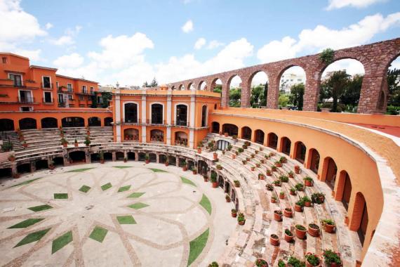 La Quinta Real de Zacatecas, un hotel en un ruedo