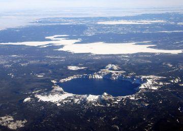 El Lago del Cráter en Oregón
