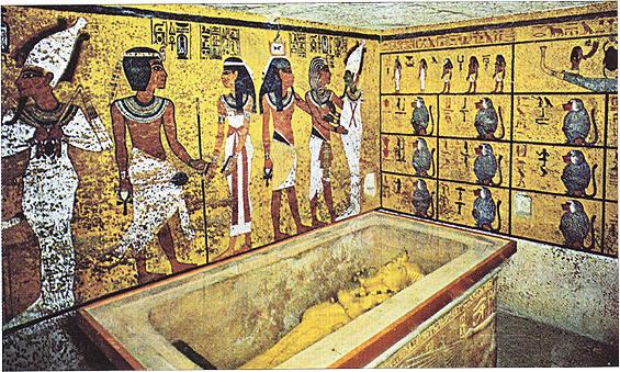 Se cierra al público la tumba de Tutankhamón
