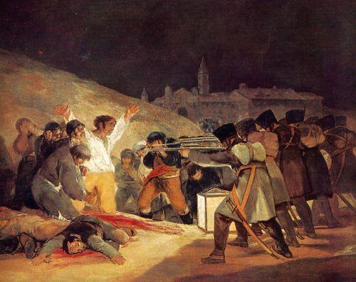 Recordando los fusilamientos del 3 de mayo