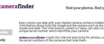 Cómo encontrar una cámara perdida...o robada