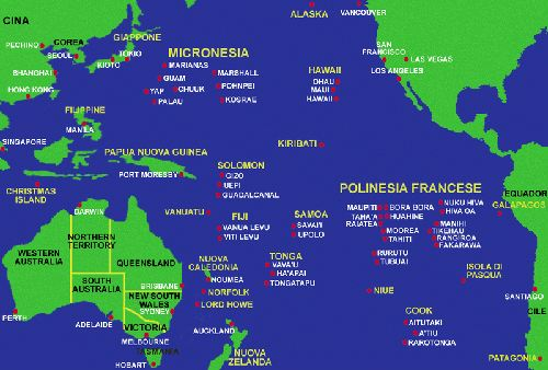¿Islas españolas en el Pacífico hoy en día?