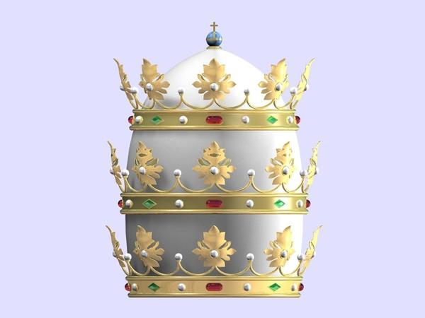 El origen de la tiara papal