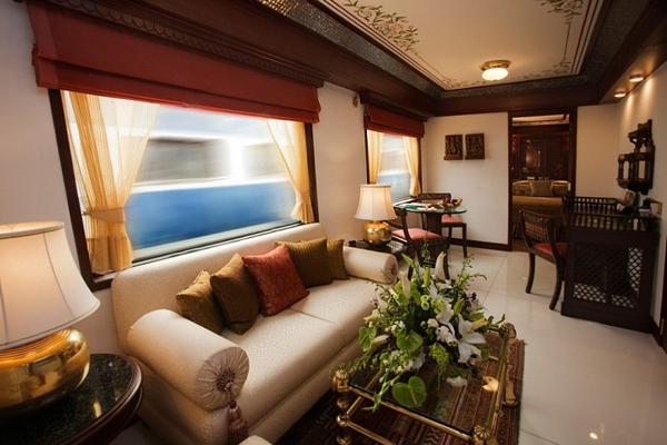 A todo lujo en el Maharajas' Express 1