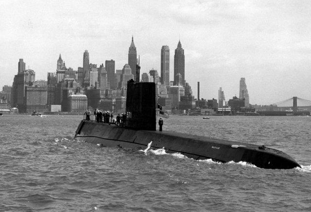 U.S.S. Nautilus, primer submarino atómico