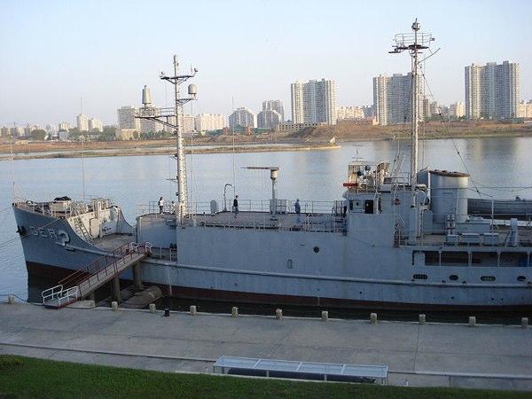 El único barco norteamericano en poder de otro país