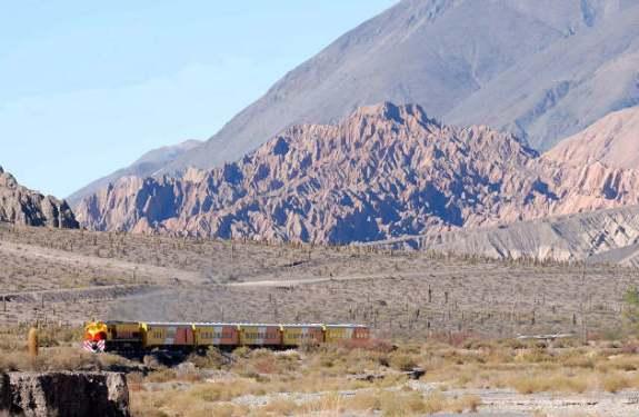 El Tren a las Nubes argentino
