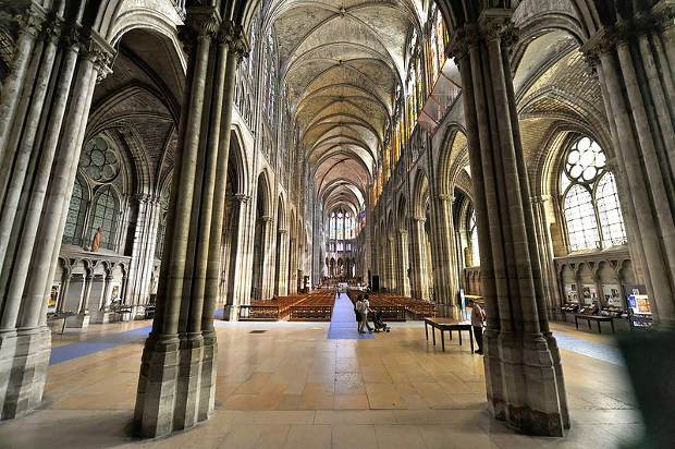 La Catedral de Saint-Denis, en París