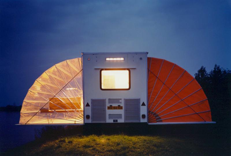 Un concepto original de caravana