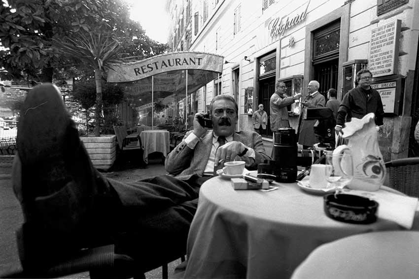 El glamour de «La dolce vita» en el Harry's Bar de Roma
