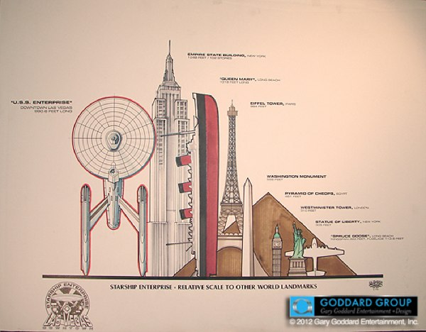 El Enterprise que pudo hacerse realidad en Las Vegas en 1992