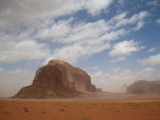El formidable Wadi Rum y Lawrence de Arabia