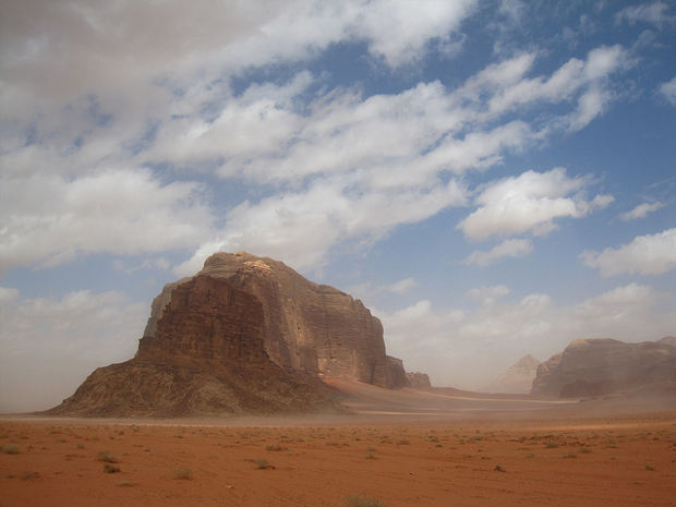 El formidable Wadi Rum y Lawrence de Arabia