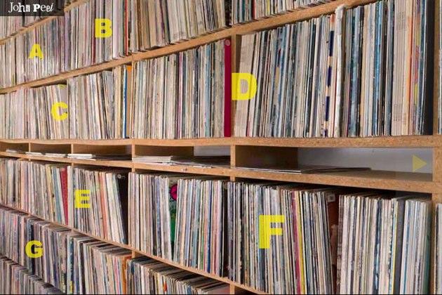 La colección de 26.000 vinilos de John Peel digitalizada online