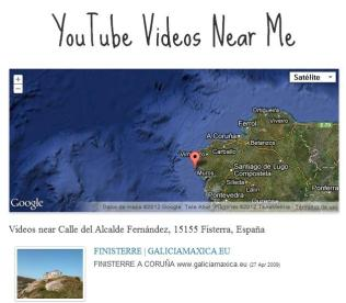 Descubre vídeos grabados cerca de ti con Youtube Videos Near Me