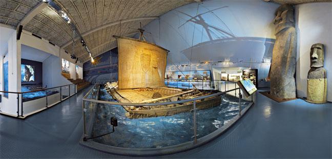El Museo Kon-Tiki de Oslo y las expediciones de Thor Heyerdahl