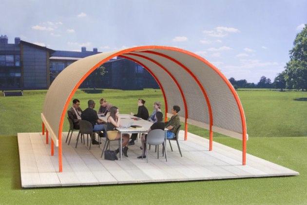 La oficina del futuro: trabajar al aire libre