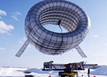 Airborne, energía eólica con una turbina hinchable