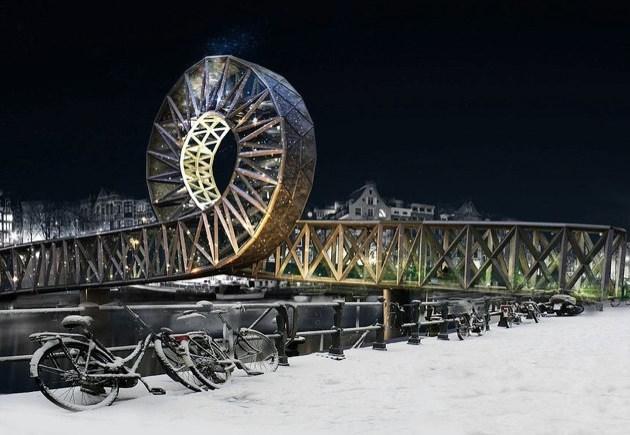 Amstel Loop, un puente bucle para Amsterdam