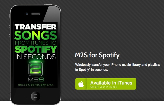 Enviar listas de reproducción de iTunes a Spotify
