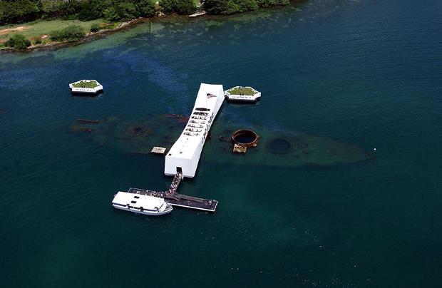 U.S.S Arizona Memorial, el recuerdo de Pearl Harbor 1