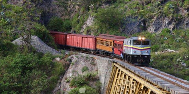 Tren del Hielo y Sendero de los Ancestros, dos nuevas rutas ferroviarias por Ecuador