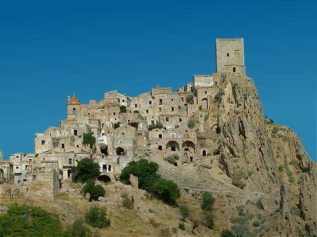 Craco, un pueblo fantasma italiano