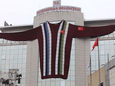 El jersey más grande del mundo está en Estambul