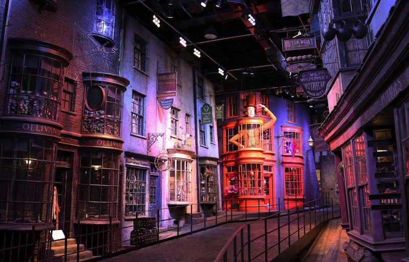 El parque temático de Harry Potter en Londres