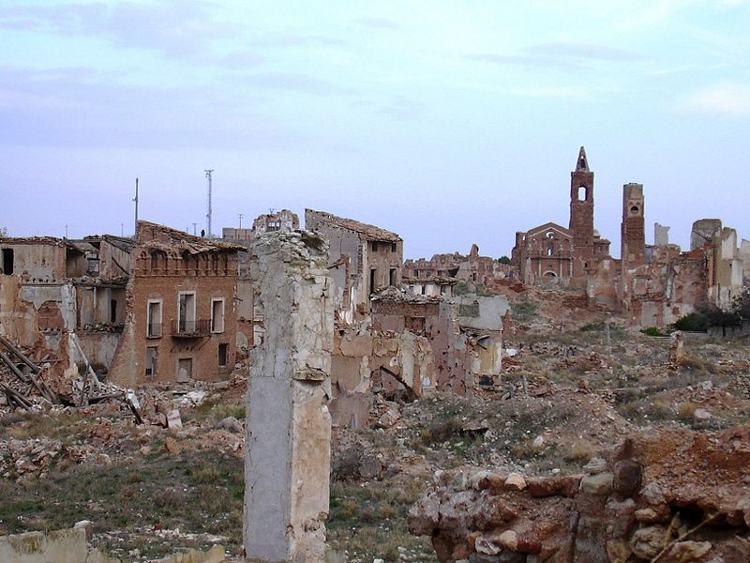 Belchite, el pueblo fantasma