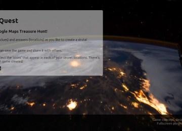 Crea tu propio mapa del tesoro con Mission MapQuest